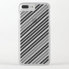 Tyre Tracks ][ Clear iPhone Case