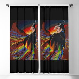 Shaw Dancer #1 Square Blackout Curtain