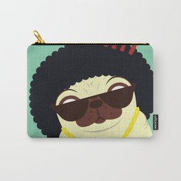 Pug in bling Carry-All Pouch