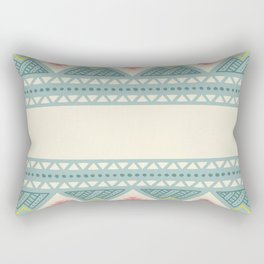 Colorful Geometric Boho Style 2 Rectangular Pillow