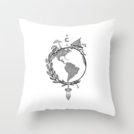 Let's make our story Throw Pillow