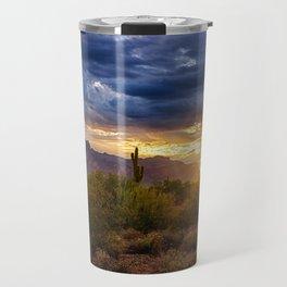 A Sonoran Desert Sunrise Travel Mug