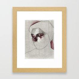 NaNoDrawMo 2012 - 22 Framed Art Print