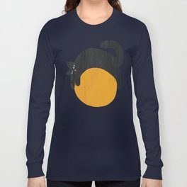 Cat with ball Long Sleeve T-shirt