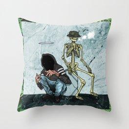 UNDERWVRLD Throw Pillow