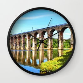 Royal Border Bridge Wall Clock