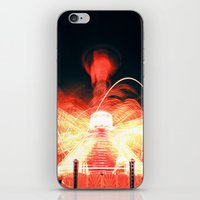 ufo iPhone & iPod Skins featuring UFO by Teodora Roşca