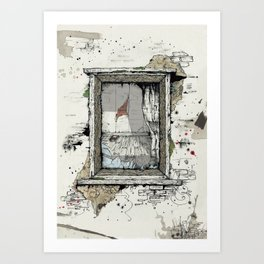 IF THESE WALLS COULD TALK Art Print