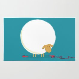 Fluffy Sheep Rug