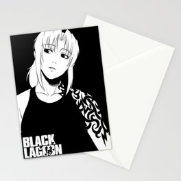 Black Lagoon Revy Stationery Cards