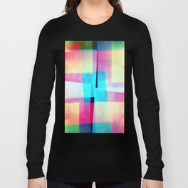 constructs #2 (35mm multiple exposure) Long Sleeve T-shirt
