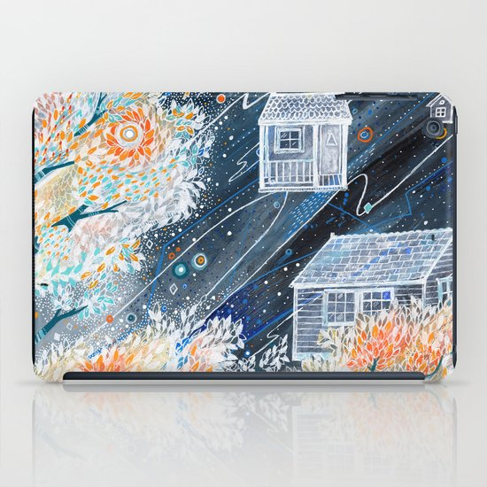 Night Houses iPad Case
