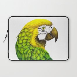 Green Macaw Laptop Sleeve