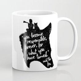 The Prince and the Fox Coffee Mug