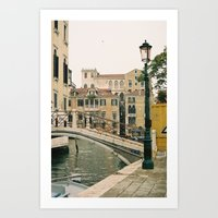 Ponte Art Print
