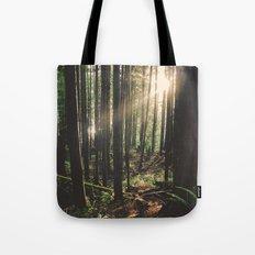 Sun in the Rainforest Tote Bag