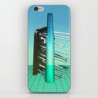 fries iPhone & iPod Skins featuring Fries by AsoMohammadi