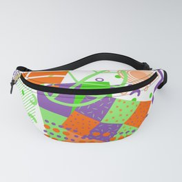 Bright abstraction Fanny Pack