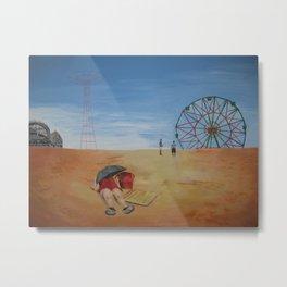 Coney Island Sunbath Metal Print