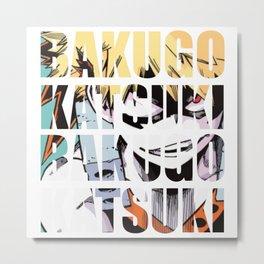 Baku in Impact Metal Print