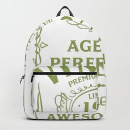 Green-Vintage-Limited-1967-Edition---50th-Birthday-Gift Backpack