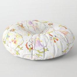 Chicks Floor Pillow
