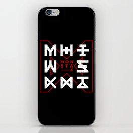 Monsta X -The Code iPhone Skin