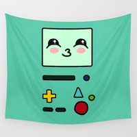 bmo Wall Tapestries featuring BMO by Janice Wong