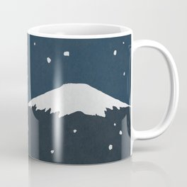 Fuji Tea Time (Night) Coffee Mug