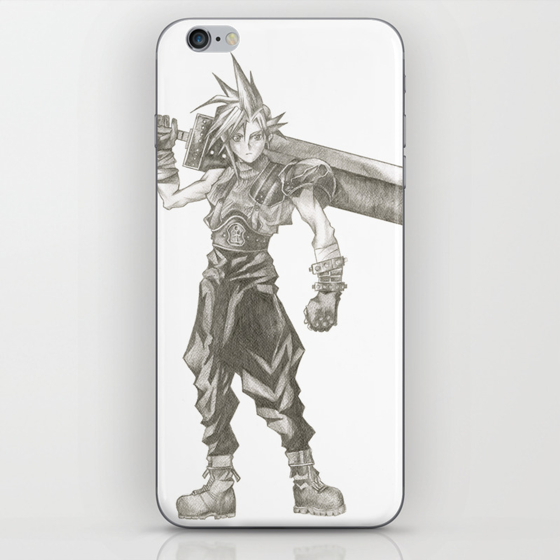 Cloud Strife Final Fantasy VII iphone case