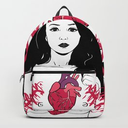 My heart is exploding Backpack