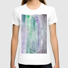 25   190907   Watercolor Abstract Painting T-shirt