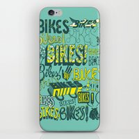 bikes iPhone & iPod Skins featuring Bikes! by Matthew Fleming
