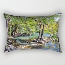 Guadalupe River Rectangular Pillow