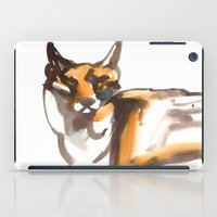 mr fox iPad Cases featuring Mr Fox by Ryan Hodge Illustration