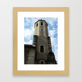 Tower of the Brunswick Cathedra Framed Art Print