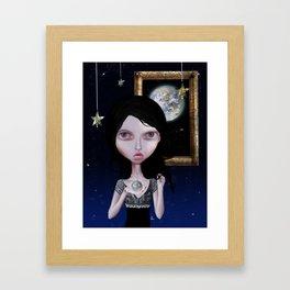 Heart of Milk Way Framed Art Print