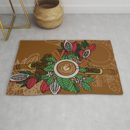 Capuccino Wallpaper Rug