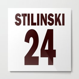 Stilinski 24 Metal Print