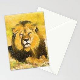 Magnificent Lion Stationery Cards