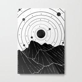 Dark Astronomy Metal Print