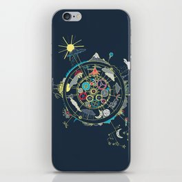 Running Like Clockworld iPhone Skin