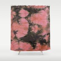 splatter Shower Curtains featuring Splatter by SarahKdesigns