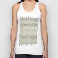 rug Tank Tops featuring Rug by Rebecca Zablocki