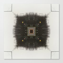 Neural Forest  Canvas Print
