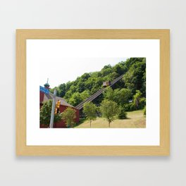 Monogahela Incline Framed Art Print