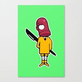 Bic Head Canvas Print