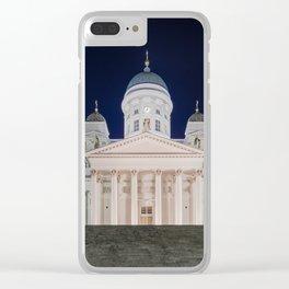 HELSINKI 02 Clear iPhone Case
