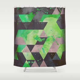 toxic hips Shower Curtain