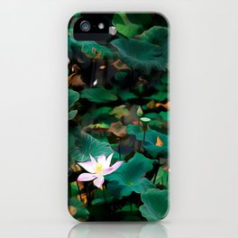Lotus - A Pattern iPhone Case